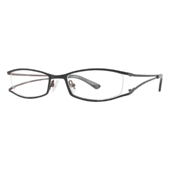 Caravelle by Bulova Phillips Square Eyeglasses